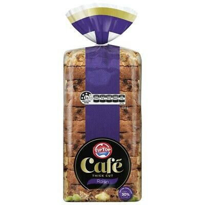 Tip Top Cafe Raisin Bread Loaf 650g