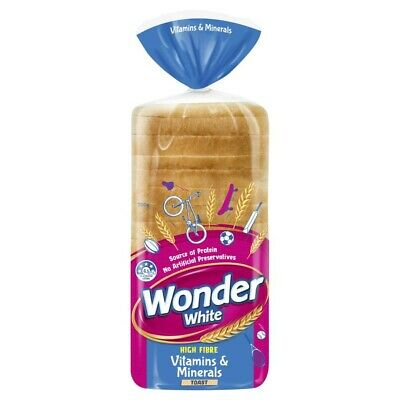 Wonder White Toast Bread +7 Vitamins & Minerals 700g