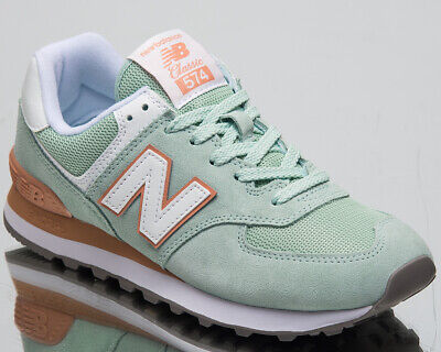 d5b83aa6ac991 New Balance 574 Essentials Women's New White Agave Lifestyle Sneakers  WL574-ESE