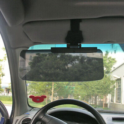 New Sun Visor Extension Shade Tinted Anti Dazzle Glare Reducer Ideal For Low Sun