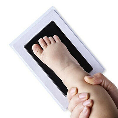 Baby Paw Print Pad Foot Photo Frame Touch Ink Pots Handprint Kits Party Washable