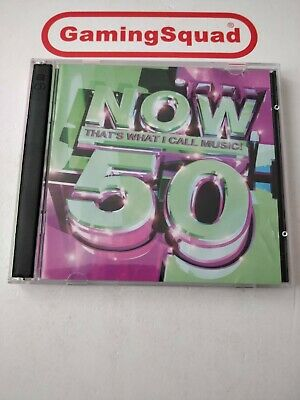 Now That's What I Call Music 50, Various Artists CD, Supplied by Gaming Squad