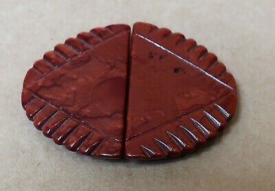 BEAUTIFUL VINTAGE ART DECO BAKELITE DRESS BUCKLE 1930s