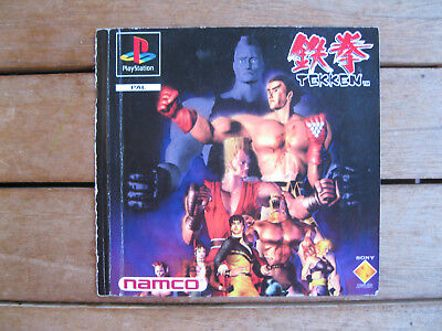 Tekken - Playstation 1 - Front Cover Originale - No Disco