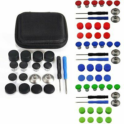 Replace Buttons Thumb Stick Joysticks Mod Kits for Xbox One Elite/PS4 Controller