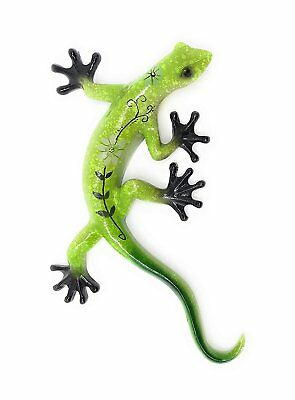 Green Tree Products Decorative Gecko, Wall or Tabletop Figurine, 11 Inches Long