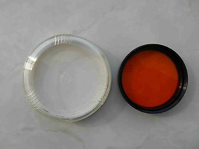 Orange Light filter O-2.8 mount 49 mm in box for russian lens Helios 44-2