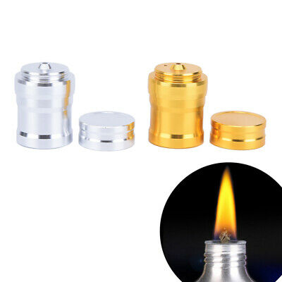 Metal Alcohol Lamp Liquid Stoves For Outdoor Survival Camping Without Alcohol ^S