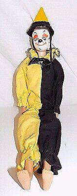 Vintage Ken Doll With Clown Masquerade Costume