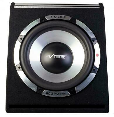 Vibe Pulse V12 300W RMS Amplified Car Audio Sub Subwoofer Enclosure