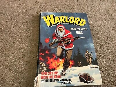 Warlord Book For Boys 1985 Annual - Good Condition -