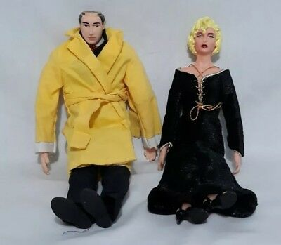 """Dick Tracy Breathless Mahoney 10"""" Action Figures Applause Disney"""