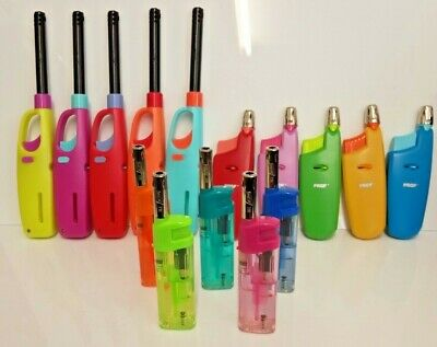 Prof Multipurpose Lighters, Refillable Lighters, Ideal For Bbq, Candles, Cookers