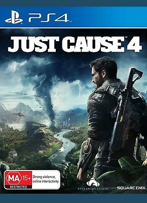 Just Cause 4 PS4 Game Brand New & Sealed In Stock