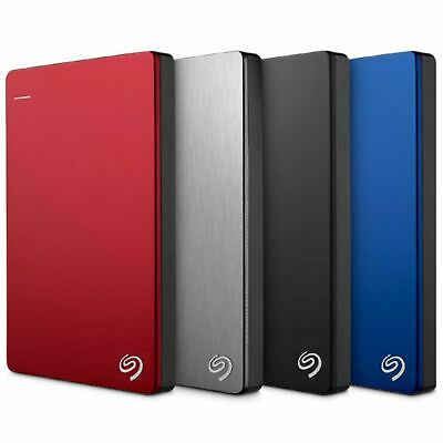 Seagate Backup Plus Ultra Slim Portable 2TB 4TB 5TB Expansion Hard Drive HDD