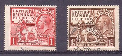 1925 Fine Used KGV BEE Set SG432-3 Wmk Block Cypher P14 Lovely REDUCED
