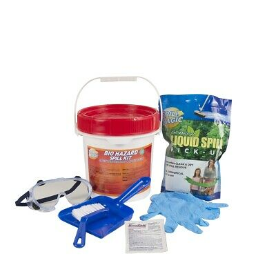 Biohazard Spill Kit, Pail Container