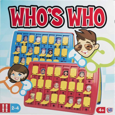 Who's Who - Guess Who style Traditional Childrens & Family Game - Full size game