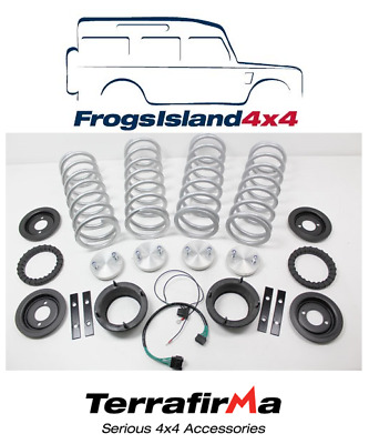"Tf222Hd Air To Coil Conversion Kit With +1"" Lift Springs For Range Rover P38"