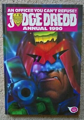 Judge Dredd Annual 1990 Unclipped 2000 AD ***VGC*** [Tibvopolis]