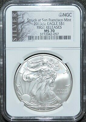 2013 S Ngc Ms70! First Releases! Great Coin For Your Collection