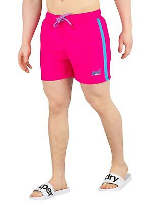 Superdry Men's Beach Volley Swimshorts, Pink