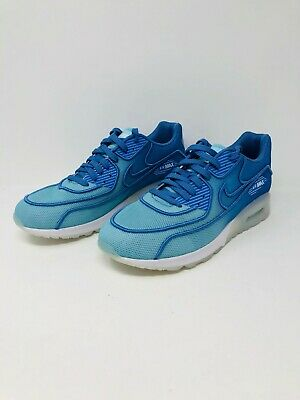 21a9713c9f01 Nike Air Max 90 Ultra 2.0 Breathe Polarized Blue 917523-400 Women s Size 9