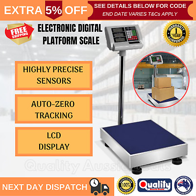 Digital Industrial Floor Scale 300kg Electronic Heavy Duty Warehouse Platform