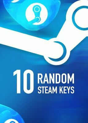 10 Random Steam Key Premium Games Pc Global Delivery Fast BONUS (REGION FREE)