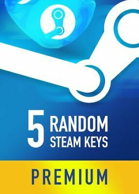 5 Random Steam Key Premium Games Pc Global Delivery Fast BONUS (REGION FREE)