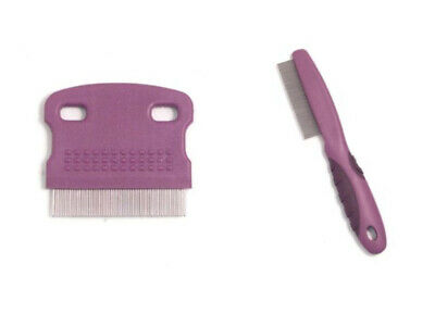 Rosewood Soft Protection Small Pet Animal Salon Grooming Flea Comb Brush NEW