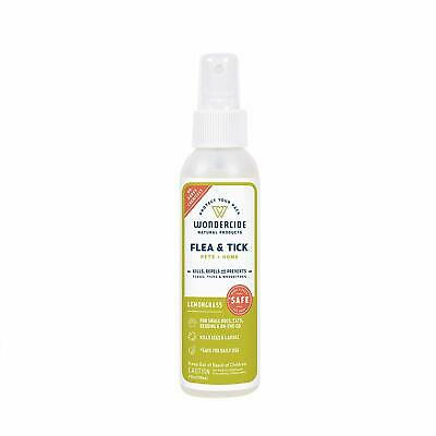 Wondercide Flea and Tick and Mosquito Control Spray for Cats Dogs and Home-Lemon