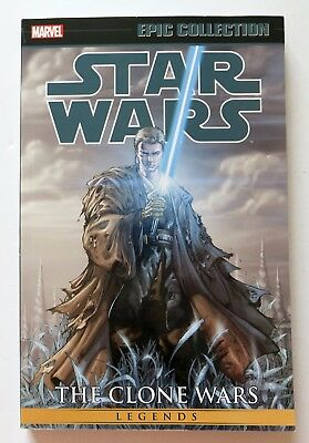 Star Wars The Clone Wars Vol. 2 Marvel Epic Collection Graphic Novel Comic Book