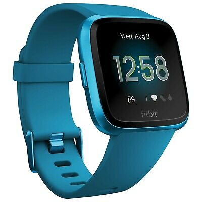 Fitbit Versa Lite Smartwatch with Heart Rate Monitor - Marina Blue