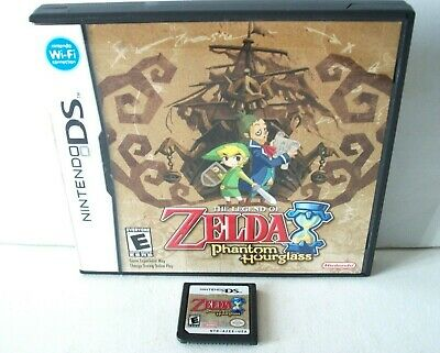 The Legend of Zelda: Phantom Hourglass (Nintendo DS) Game & Case Authentic