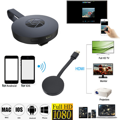 Chromecast Mirascreen Wecast G2 Hdmi Streaming Video Media Player Android Apple