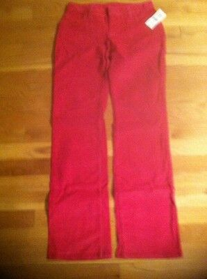 Gap Girls Hot Pink Corduroy Pants Org. $29.50 Size 12 Bnwt
