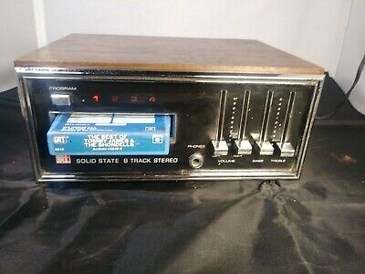A.P.F. Electronics New York, N.Y. Vintage 8 Track Player Model 602