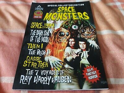 Space Monsters Magazine 1 - NEW - Space 1999, Them!, The Blob, Classic Star Trek