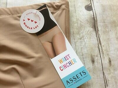 6c3106fe62 NWT Assets by Spanx Women s Shaping Waist Cincher 10141R Barely Nude S NEW!