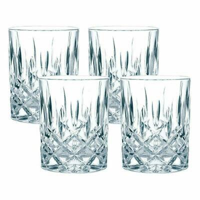 Nachtmann Noblesse Whisky Crystal Glass, Set of 4 Made in Germany New in Box
