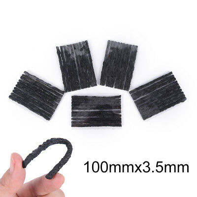 50x Tubeless Tire Tyre Puncture Repair Kit Strips Plug Car cycling Bike BHCA