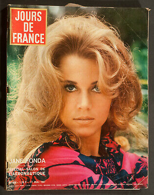 'jours De France' Vintage Magazine Jane Fonda Cover 27 May 1967