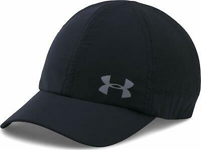 1bbb9c6fa UNDER ARMOUR WOMEN'S Fly by ArmourVent Black Cap Hat OSFM NWT