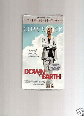 Down to Earth (VHS, 2001, Special Edition)