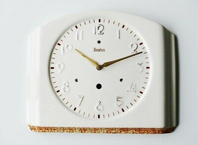 Antique german orig JUNGHANS kitchen clock wall vintage modernist midcentury