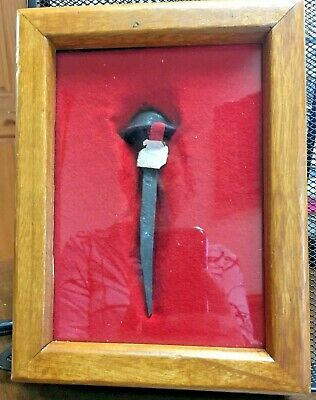 19th century , Holy Nail Authentic Relic of the Vatican