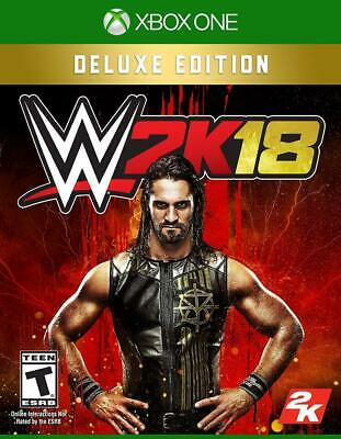 WWE 2K18 Deluxe Edition - Microsoft Xbox One