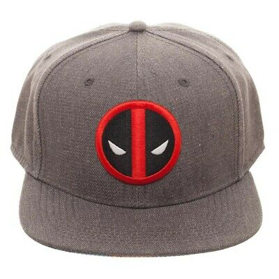 online store 3c588 d8320  New Deadpool-Logo-Chrome-Weld-Marvel-Comics flex Fitted Hat