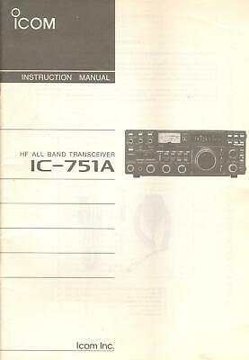 ICOM VHF TRANSCEIVER IC-V8000 Original Instruction Manual - $30 00